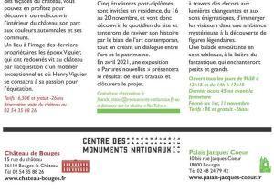 Château de Bouges et le Palais Jacques Cœur  —- Novembre 2020