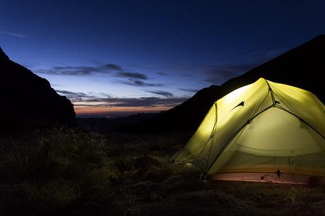 Camping dans les Pyrénées