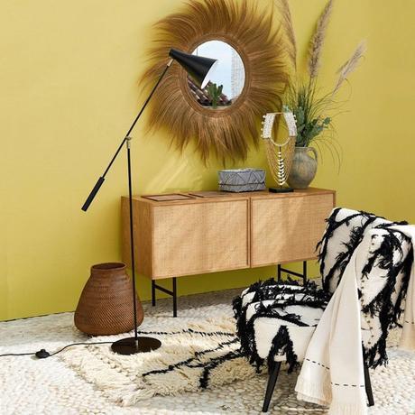 fauteuil franck kilim motif ethnique - blog déco - clemaroundthecorner