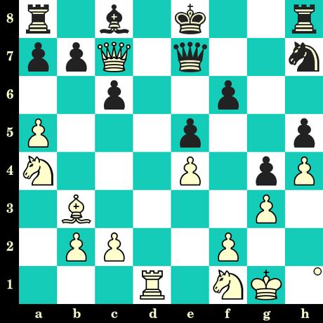 Les Blancs jouent et matent en 2 coups - Brunnemer vs Patton, corr. USA, 1920