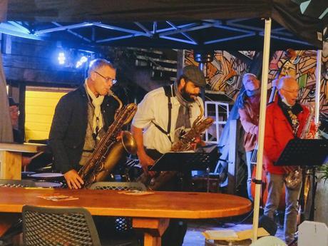 Coast ar jazz aux Cochons Flingueurs à Saint-Quay-Portrieux dans le cadre de Jazz ô Châtaignes, le 25 octobre 2020