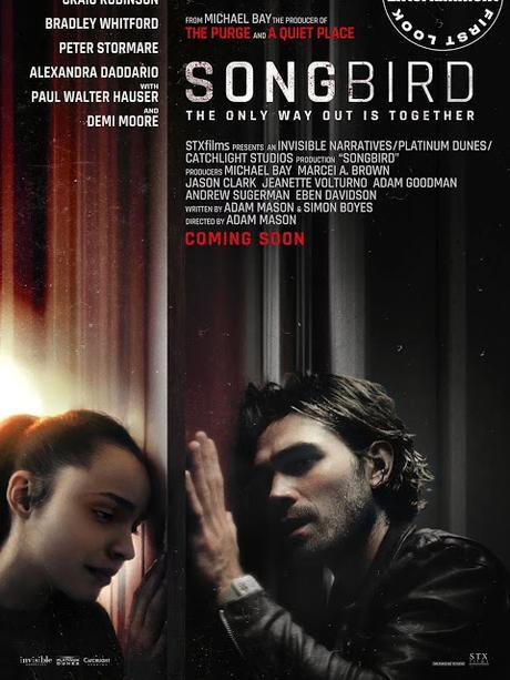Premières images officielles pour le thriller pandémique Songbird signé Adam Mason