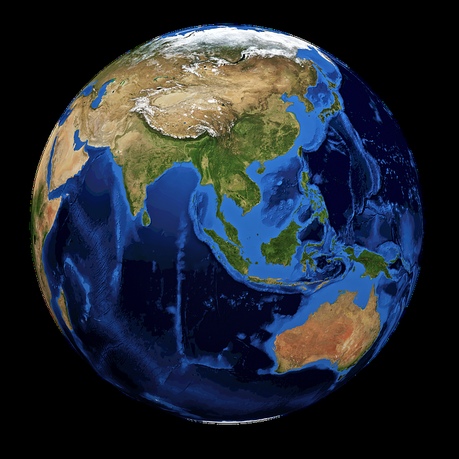 Monde, Terre, Planète, Globe Terrestre, Bleu, Sphère