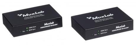 Installez en rack trois extendeurs HDMI & SDI avec le kit MuxLab 500905