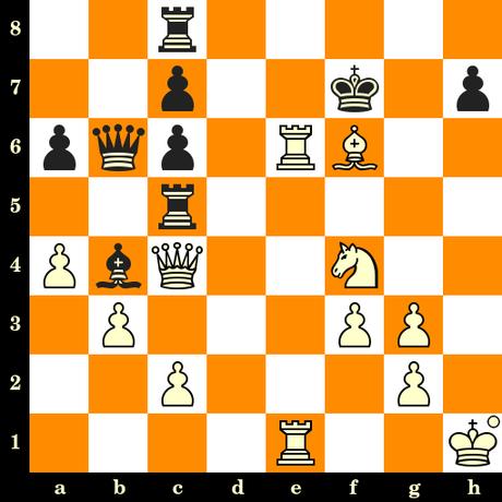 Les Blancs jouent et matent en 3 coups - Geza Maroczy vs Heinrich Wolf, Berlin, 1899