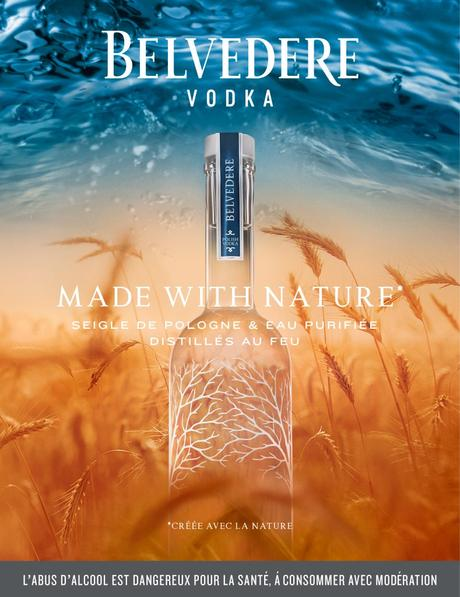 BELVEDERE VODKA, MADE WITH NATURE