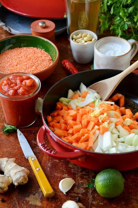 plat indien équilibre vegan carotte légume hiver - blog cuisine maison