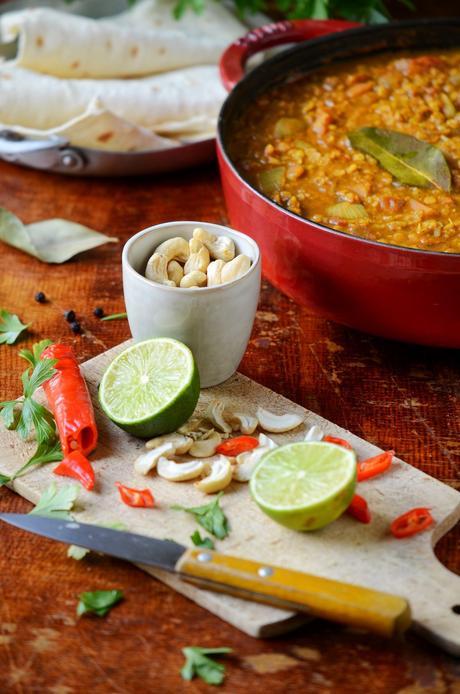 recette indienne dahl vegan citron vert noix de pécan