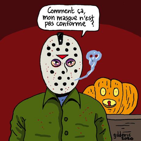Halloween et le port du masque