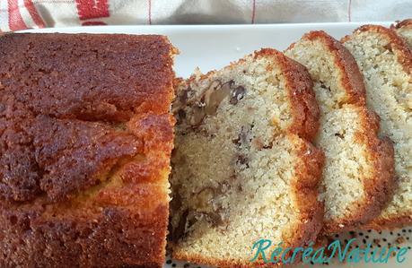 Cake aux Noix et au Levain