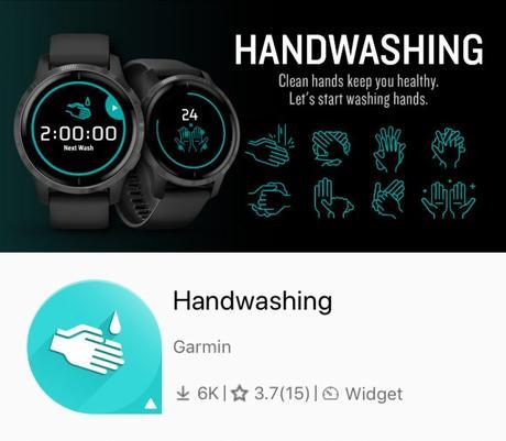 Application lavage de mains