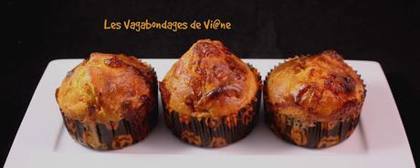 Muffins d'Halloween (carotte - maroilles - lardons)