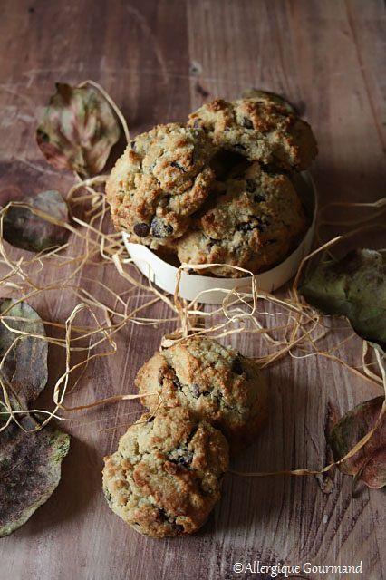 Cookies { sans gluten, sans lait, sans œufs }
