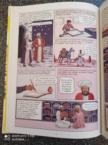 L'Histoire du monde en BD – Aux premiers siècles de l'Islam » Dominique Joly & Emmanuel Olivier