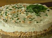 Cheesecake herbes aromatiques