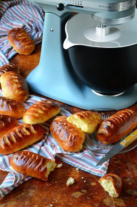 Recette petits pains au lait moelleux perle sucre