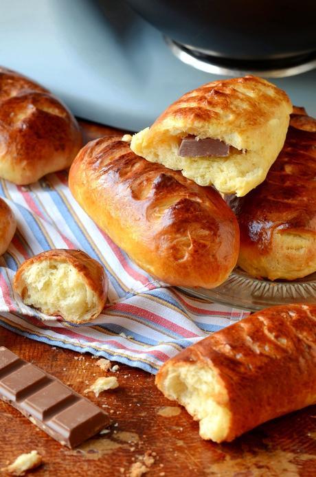Recette petits pains au lait moelleux chocolat gouter enfant