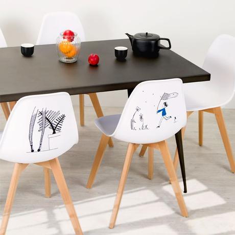Faites entrer les chaises d'artiste dans votre intérieur !