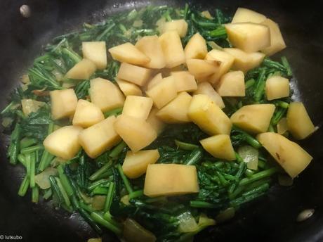 A l'indienne – Samosas aux fanes de navet et patate douce