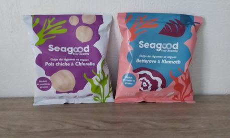 Chips de légumes et algues SEAGOOD