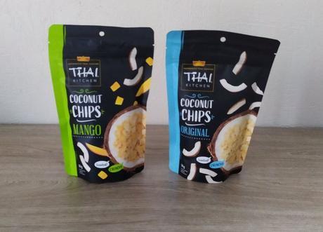 Chips de noix de coco nature et mangueTHAI KITCHEN