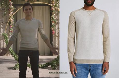 ICI TOUT COMMENCE : le pull beige de Louis dans l'épisode 2