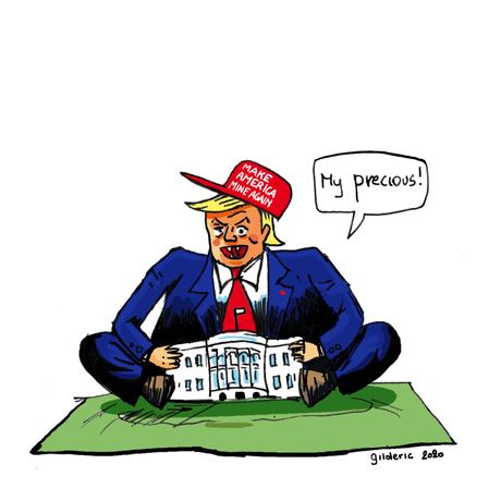 « My Precious ! » : Donald Trump s'accroche à la Maison-Blanche