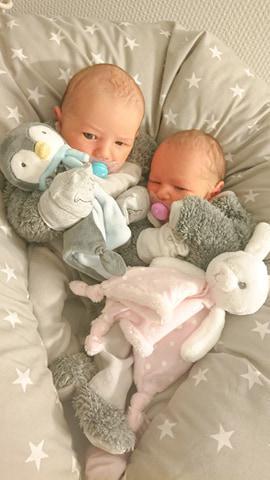 Mon accouchement des jumeaux