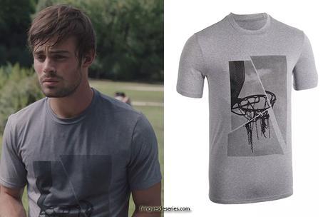 """ICI TOUT COMMENCE : le t-shirt """"basket"""" de Maxime dans l'épisode 7"""