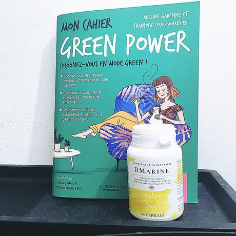 Bien-être : Mon Cahier Green Power et les vitamines DMarine®