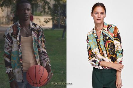 """ICI TOUT COMMENCE : la chemise """"patchwork de chaines"""" d'Enzo dans l'épisode 11"""