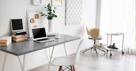 espace de travail à la maison