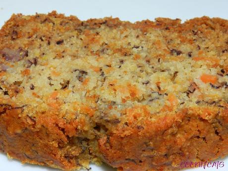 CARROT CAKE BANANA BREAD (sans gluten, végétalien)