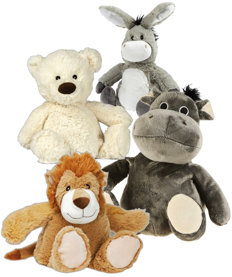 bouillotte made france micro ondes peluche