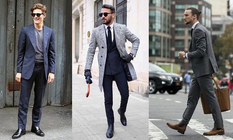 styles chelsea boots avec costume