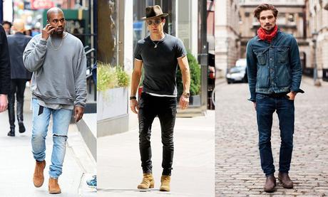 styles chelsea boots avec jeans