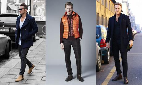 styles chelsea boots avec manteaux