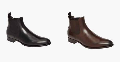 deux paires de chelsea boots
