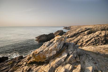 Les rochers de la côte sauvage de Quiberon