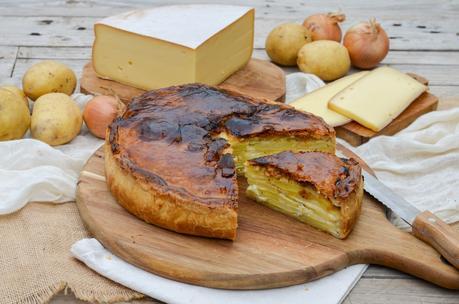 Tourte pommes de terre à la Raclette de Savoie