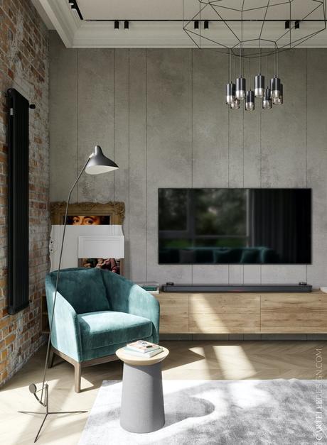 aménager chambre ami façon hotel cosy bleu bois design - blog architecture clemaroundthecorner