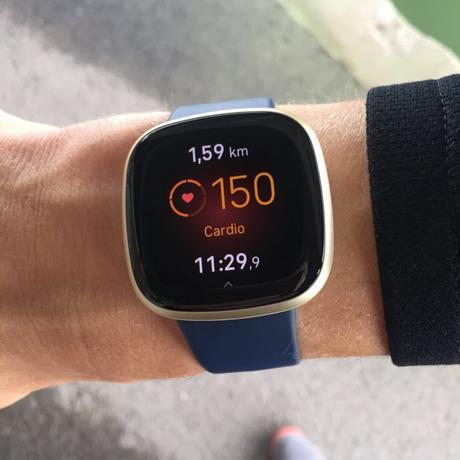 Fitbit Versa 3 champs donnée