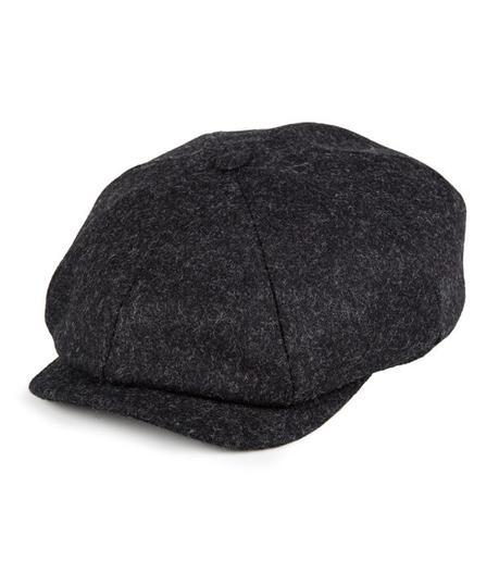 casquette tweed homme