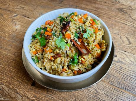 India Express – « Egg » fried rice
