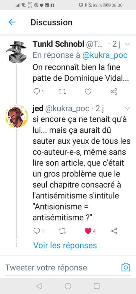 quand un « expert » en antisémitisme s'en prend aux juifs antifas… Quel (non) étonnement