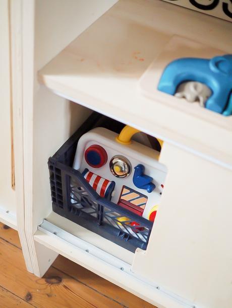 Tuto portes coulissantes pour bibliothèque basse du livre Little Wood Studio ADC