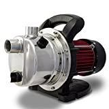 Pompe à eau de surface inox auto-amorcante 800W REF 30118