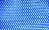 Edg By Aqualux 180µm 7.3 x 3.7m Couverture Solaire pour Piscine Rectangle Tubulaire 7.3 x 3.7, Bleu