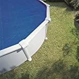 Gre 772999 - Couverture Solaire Isotherme pour Piscine Ronde 460 cm de Diamètre, Couleur Bleu