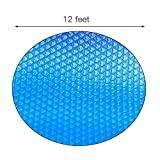 Couverture de piscine bâche solaire pour piscines rondes bâche chauffante piscine protection UV bâche piscine ronde bâche solaire couverture de piscine bâche d'hiver-360cmx360cm